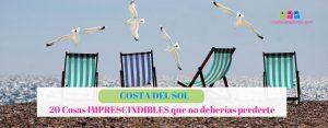 Costa del Sol: 20 cosas imprescindibles que no deberías perderte