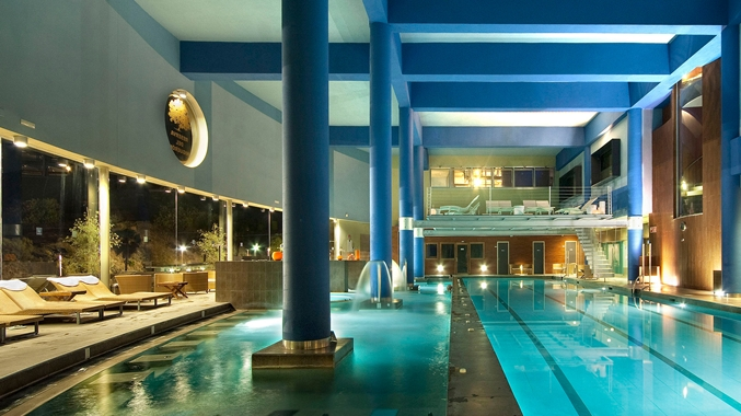 hotel spa double hilton