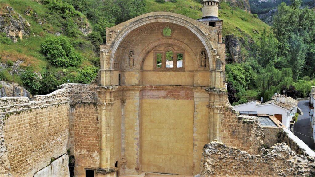 Las ruinas de la Iglesia de Santa María de Gracia
